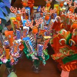 candy bouquets from the store